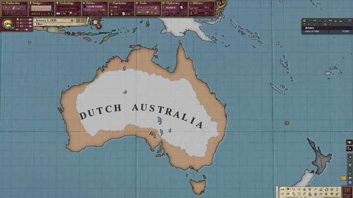Victoria II: Heart of Darkness mod Ancien Regimes, an Alternate History HPM v1.5.0