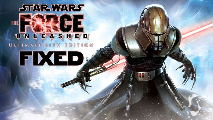 Star Wars: The Force Unleashed - Ultimate Sith Edition mod 4K & 1440p Config v.1.1.2