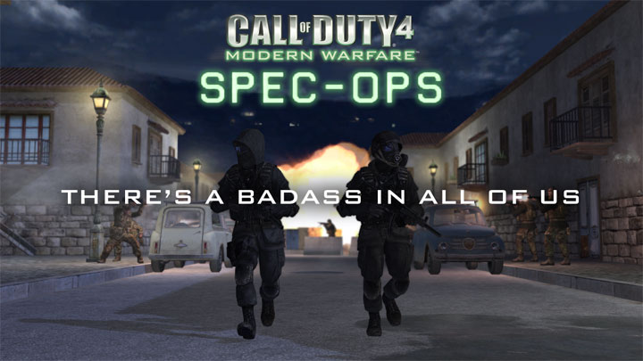 Call of Duty 4: Modern Warfare mod Full Spec Ops Mod v.7032019
