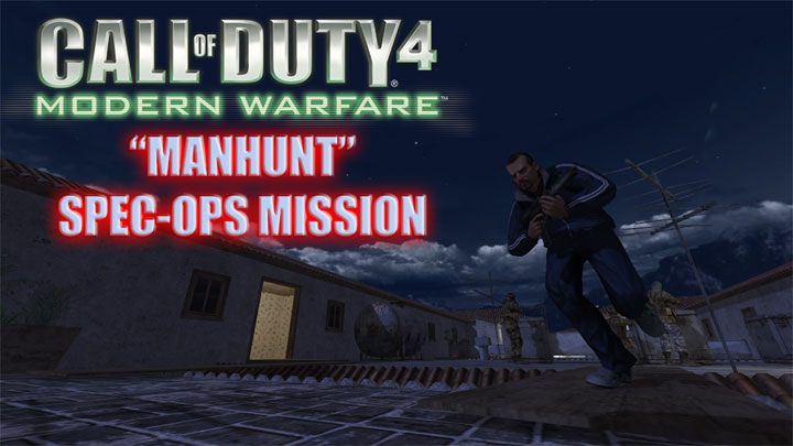 Call of Duty 4: Modern Warfare mod Manhunt