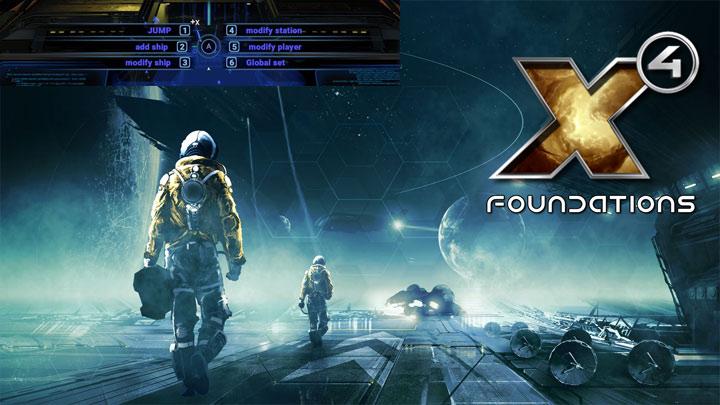 X4: Foundations GAME MOD X4 Cheat Menu v 0 9 7 6 3 - download