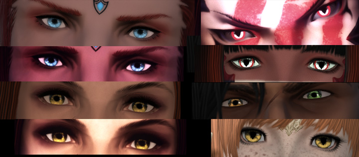 Final Fantasy XIV: A Realm Reborn GAME MOD Owl's Eyes of