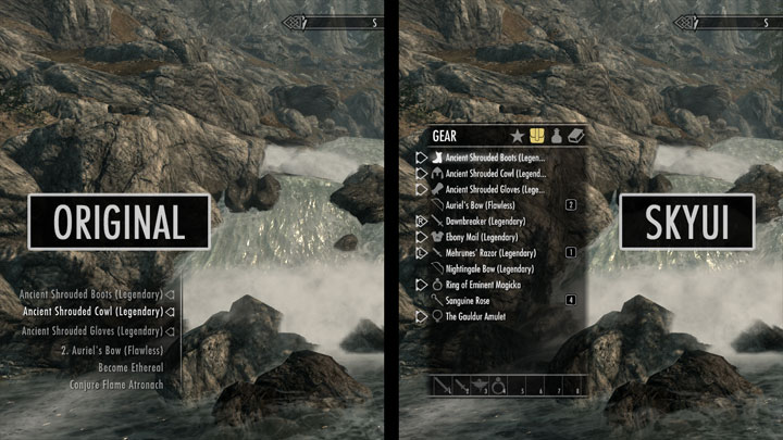 The Elder Scrolls V: Skyrim Special Edition GAME MOD SkyUI SSE v 5 2