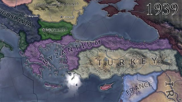 Hearts of Iron IV GAME MOD Byzantium v 1 4b - download