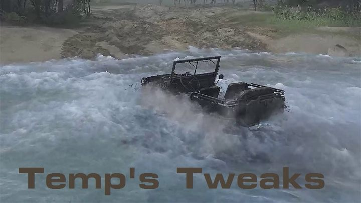 Spintires mod Temp's Tweaks v.4062017