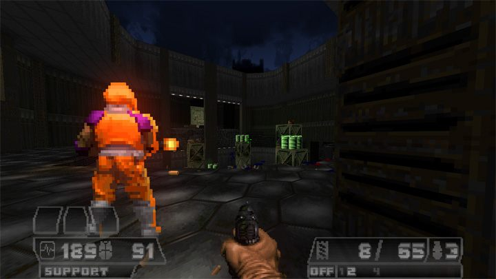 Doom II: Hell on Earth GAME MOD Doomzone v 1 8 1 - download