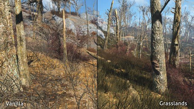Fallout 4 GAME MOD Grasslands v 1 1 - download | gamepressure com