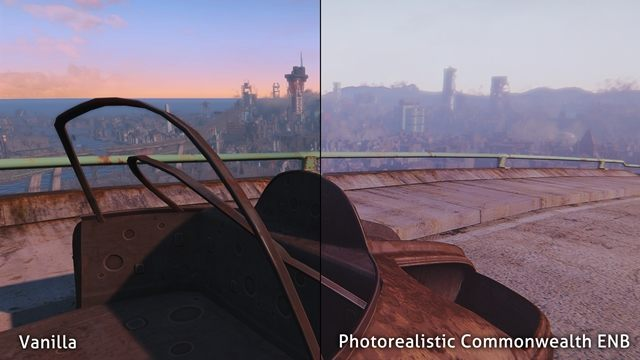 Fallout 4 GAME MOD Photorealistic Commonwealth ENB (Default