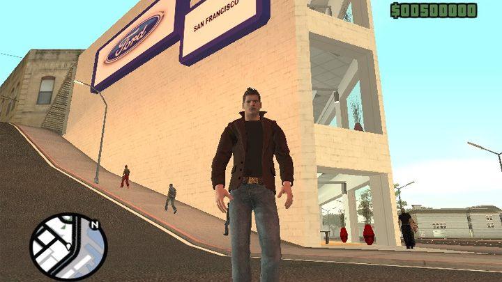 Grand Theft Auto: San Andreas GAME MOD GTA Supernatural v