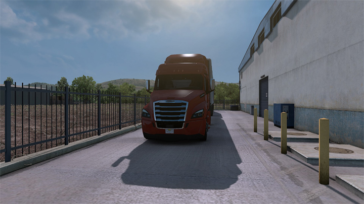 American Truck Simulator mod Care Package v.1.0