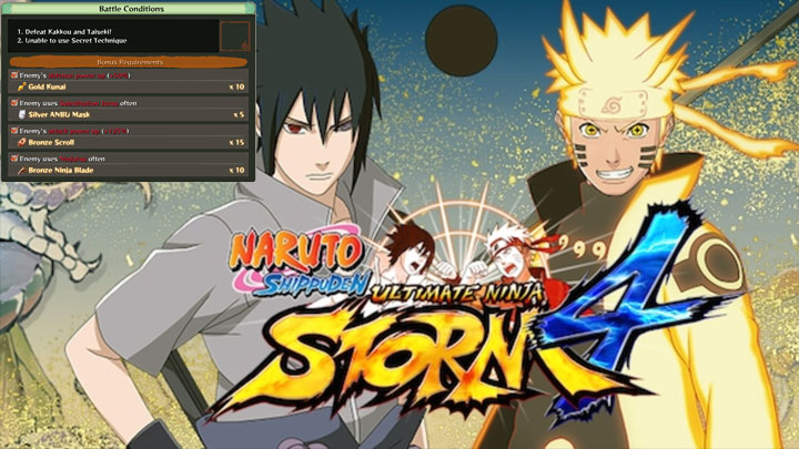 Naruto Shippuden: Ultimate Ninja Storm 4 GAME MOD Ultimate Story