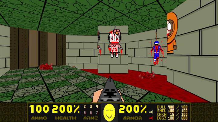 Doom II: Hell on Earth mod Mr. Smiley Head's Safari II v.0.49beta