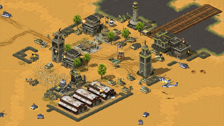 Command & Conquer: Red Alert 2 - Yuri's Revenge mod Rise of the East v.1.01 beta