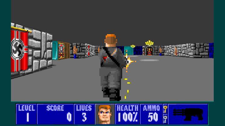 Wolfenstein 3D GAME MOD Wolf3D: Third Person