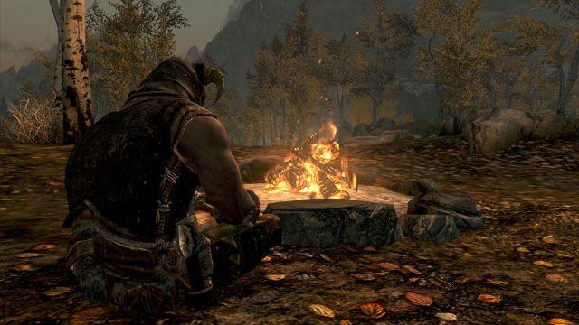 The Elder Scrolls V: Skyrim GAME MOD Campfire v 1 11