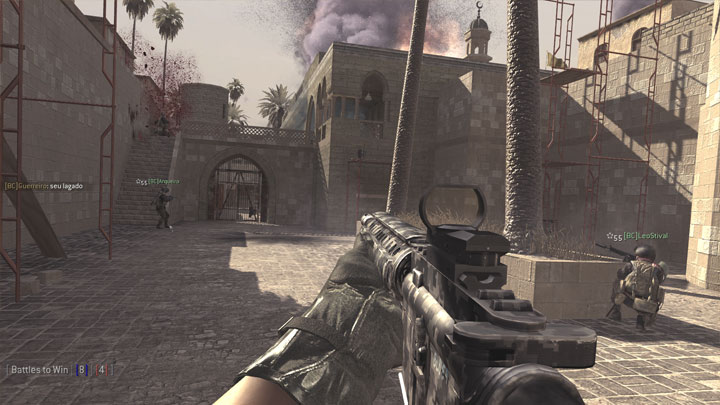 Call of Duty 4: Modern Warfare GAME MOD Frontlines FOREVER v