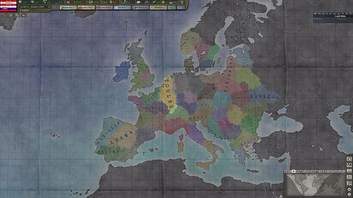 Hearts of Iron III: Their Finest Hour mod Ancient Times