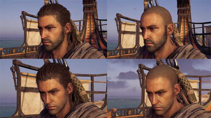 Assassin S Creed Odyssey Game Mod Alexios Customizer Hairstyles