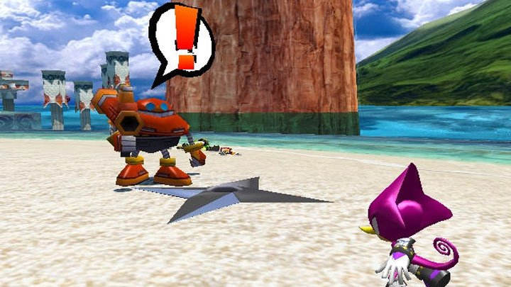 Sonic Heroes GAME MOD Missing Shuriken Particle Effect