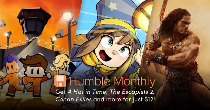 Conan Exiles, A Hat in Time i The Escapists 2 w nowym Humble Monthly za 45 zł - ilustracja #1