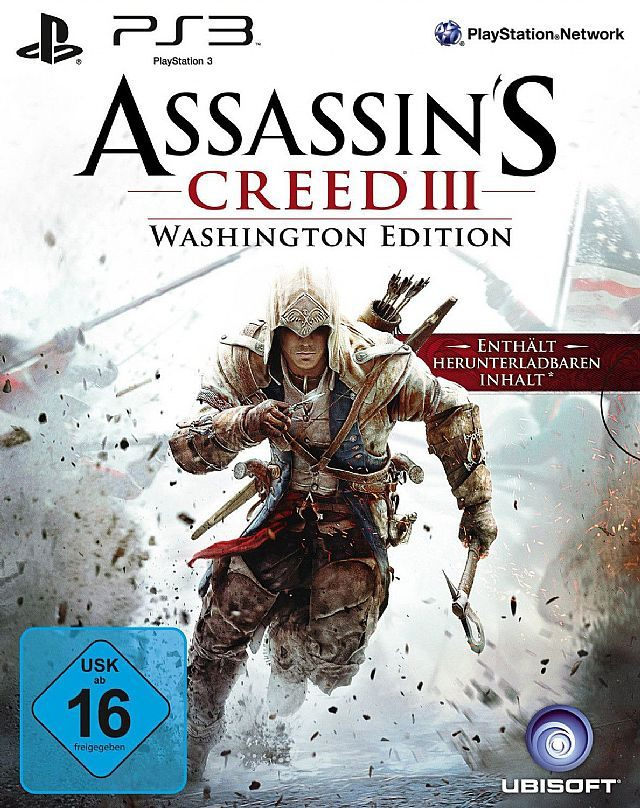 Assassin's Creed III: Washington Edition - Wieści ze świata (LEGO City: Undercover, Assassin's Creed III) 28/2/13 - wiadomość - 2013-02-28