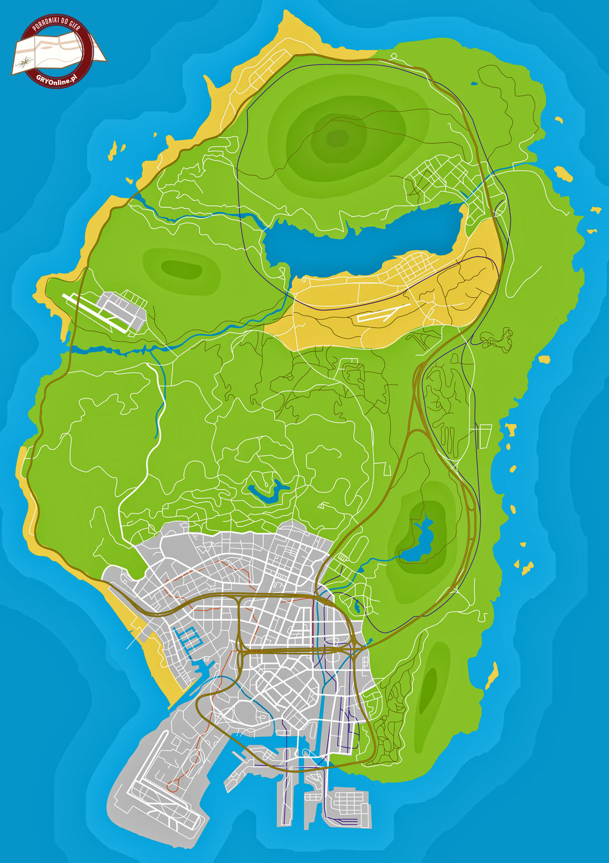 Mapa GTA V - Radioaktywne odpady