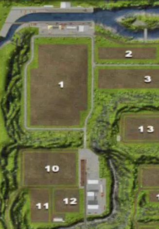 Mapa obszaru H - podkowy w Farming Simulator 2013