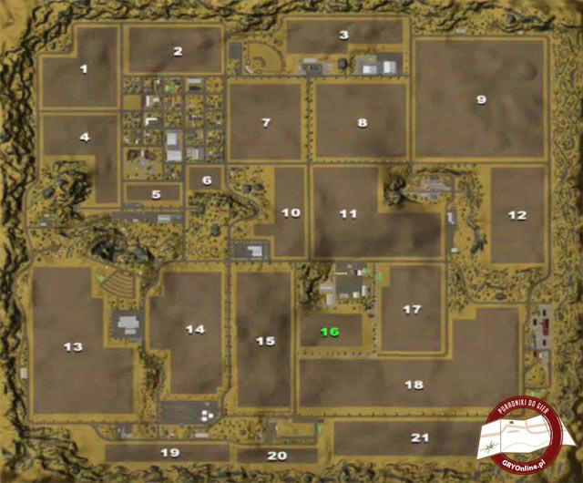 Mapa Wzgórz Westbridge - Farming Simulator 2013