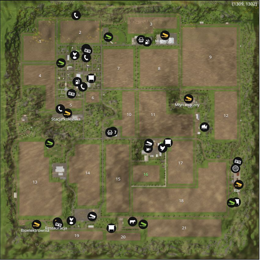 Farming Simulator 15 Maps