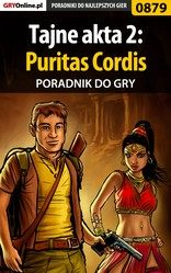 Poradnik Tajne akta 2: Puritas Cordis (Secret Files 2: Puritas Cordis)