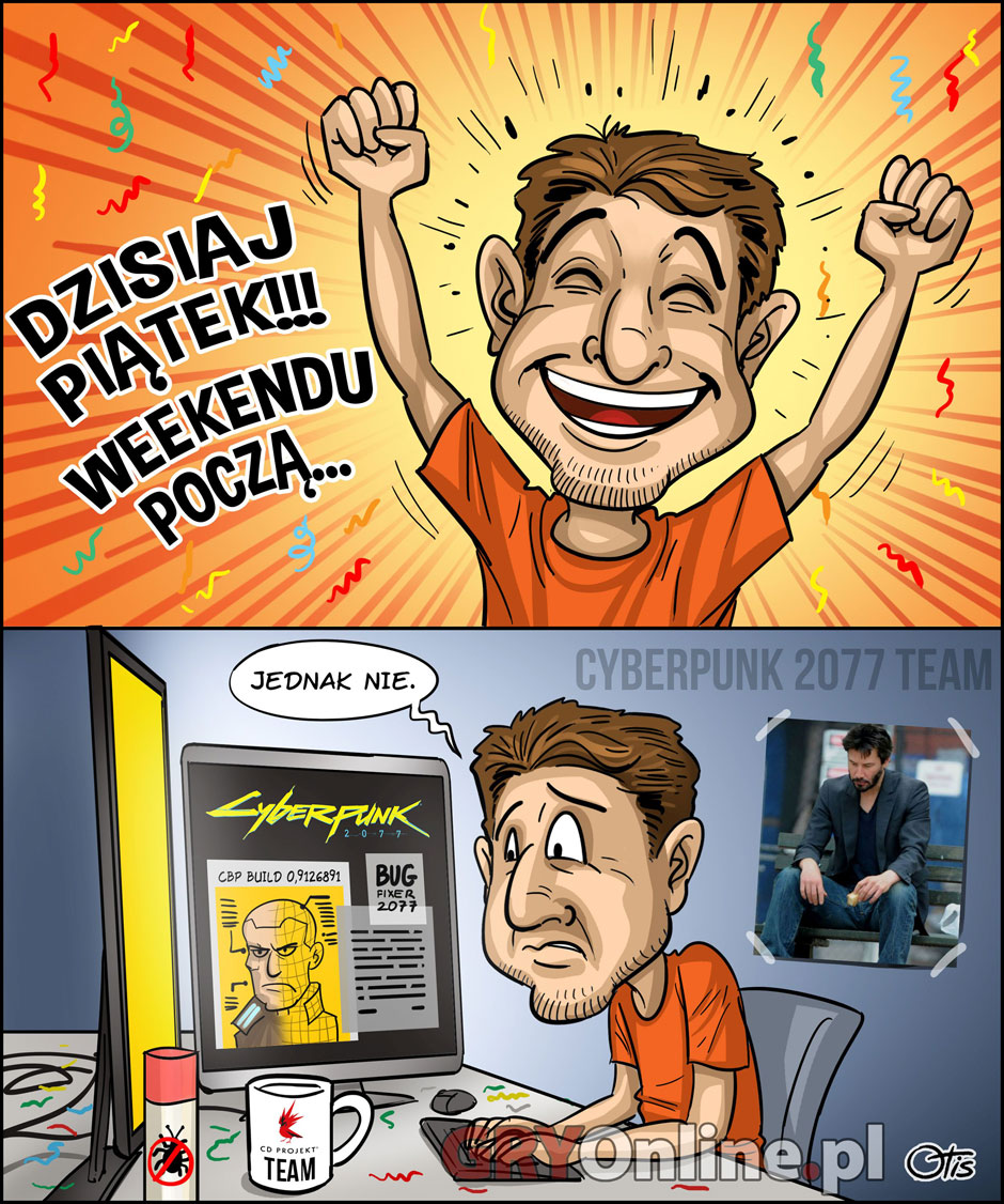 Weekend, komiks Cartoon Games, odc. 324.