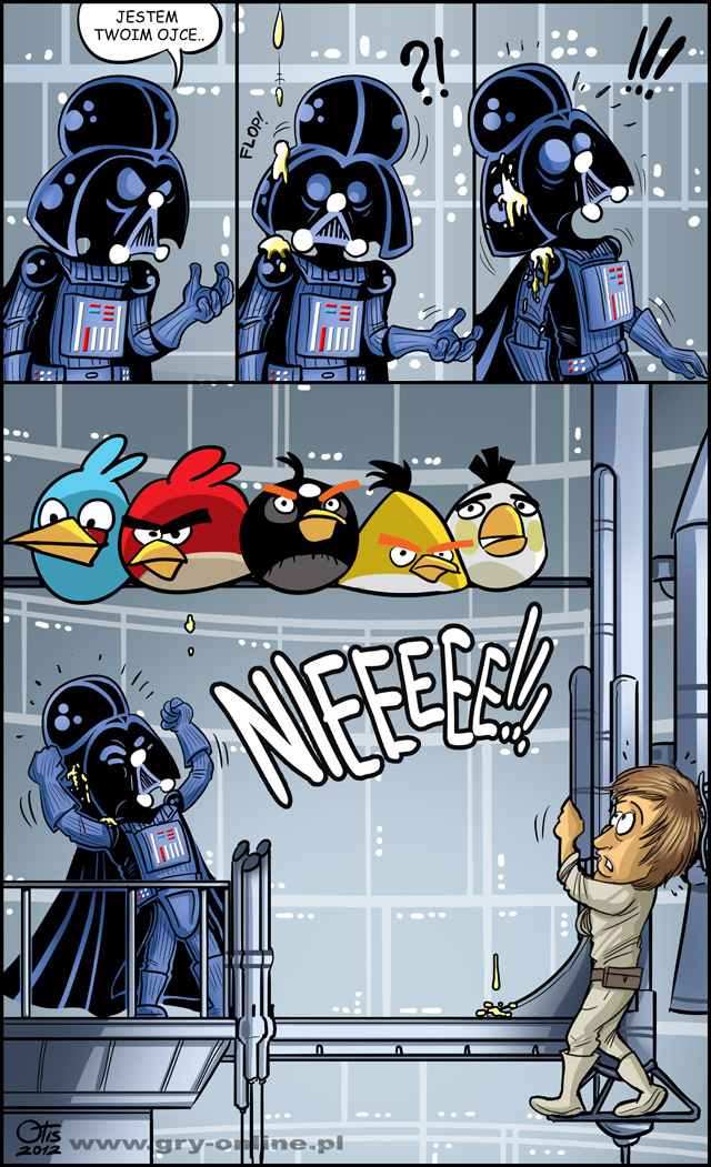Angry Birds Star Wars - komiks Cartoon Wars, odc. 50.