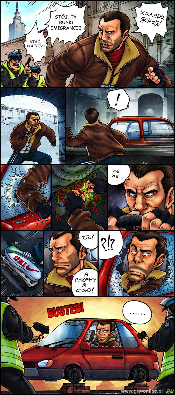 GTA: Polish City, komiks Next Gen, odc. 6.