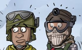 Komiks Cartoon Games - odc. 97 - Call of Duty: Ghosts DLC