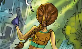 Komiks Cartoon Games - odc. 202 - Tomb Raider Classic