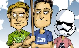 Komiks Cartoon Wars - odc. 87 - May the 4th Be With You!