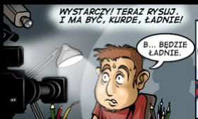 Komiks Cartoon Games - odc. 1 - Wielki GOL Patrzy