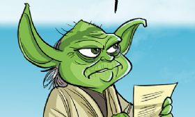 Komiks Cartoon Wars - odc. 97 - Ostatni Jedi