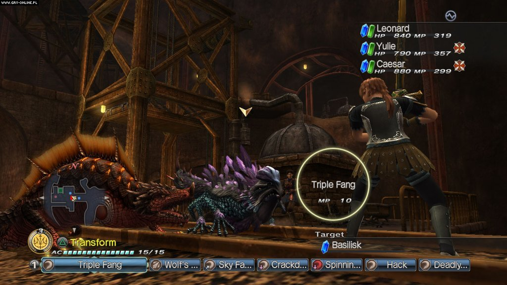White Knight Chronicles 2 PS3 Gry Screen 42/61, Level 5, Sony Interactive Entertainment