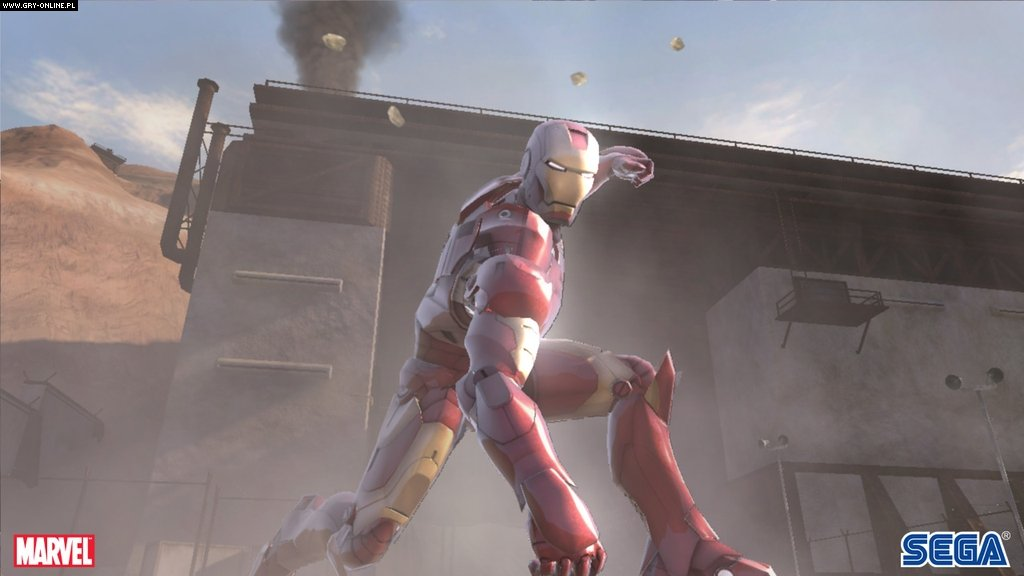 Iron Man X360 Gry Screen 42/102, SEGA