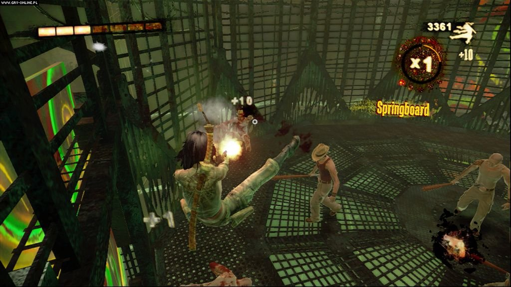 WET X360 Gry Screen 25/72, Artificial Mind & Movement/Behaviour Interactive, Bethesda Softworks