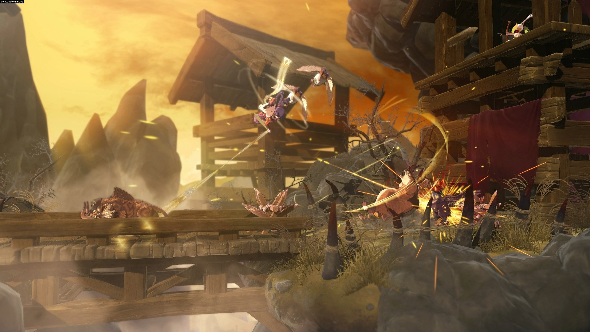 Sakuna: Of Rice and Ruin PC, PS4 Gry Screen 2/28, Edelweiss, XSEED Games