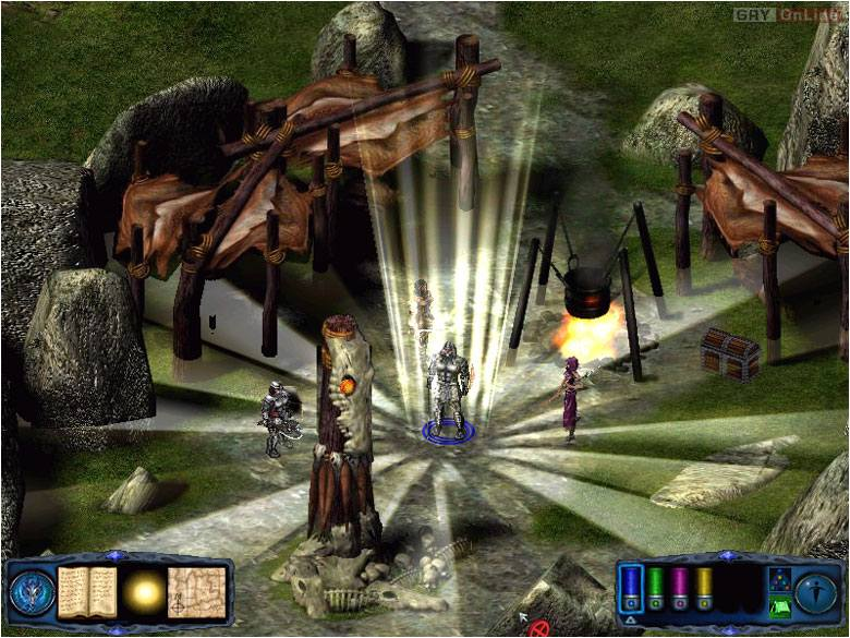 Pool of Radiance: Ruiny Myth Drannor PC Gry Screen 5/21, Stormfront Studios, Strategic Simulations Inc.