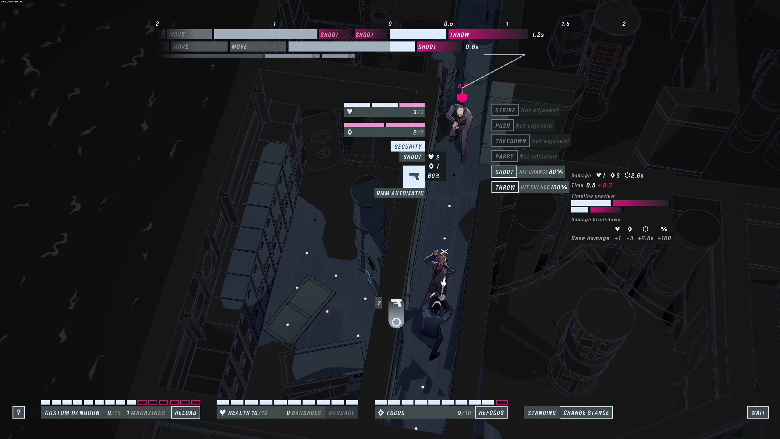 John Wick Hex PC Gry Screen 2/13, Bithell Games, Good Shepherd Entertainment / Gambitious