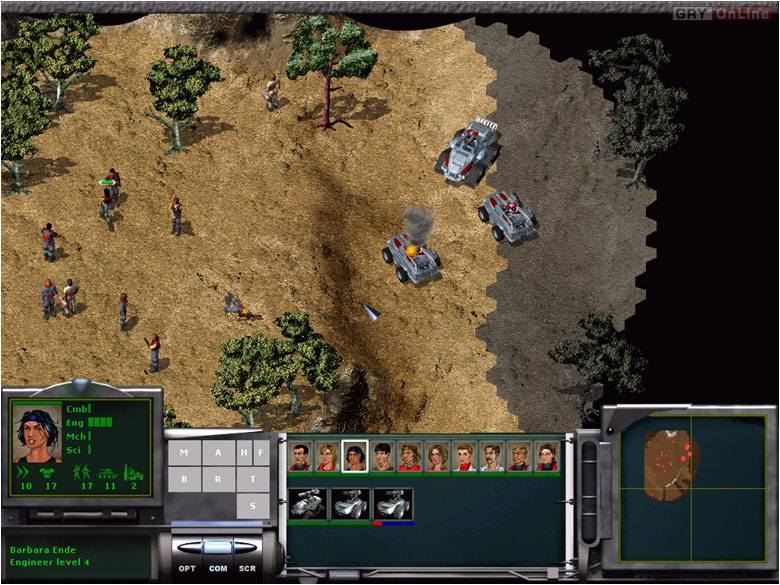 Original War PC Gry Screen 2/6, Altar Interactive, Virgin Interactive