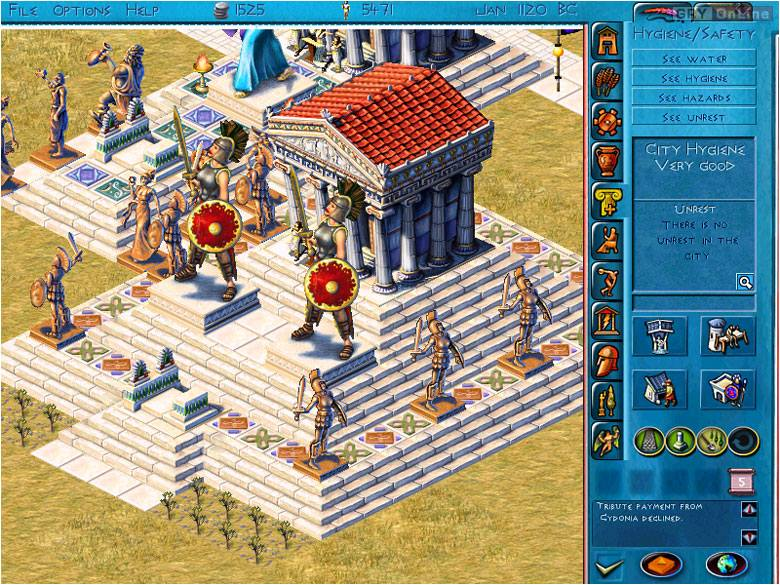 Zeus: Pan Olimpu PC Gry Screen 6/6, Impressions Games, Sierra