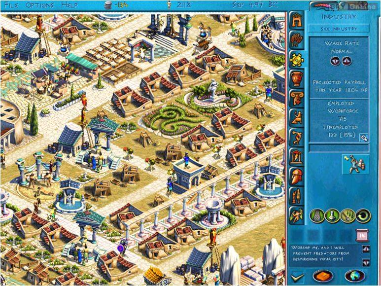 Zeus: Pan Olimpu PC Gry Screen 3/6, Impressions Games, Sierra