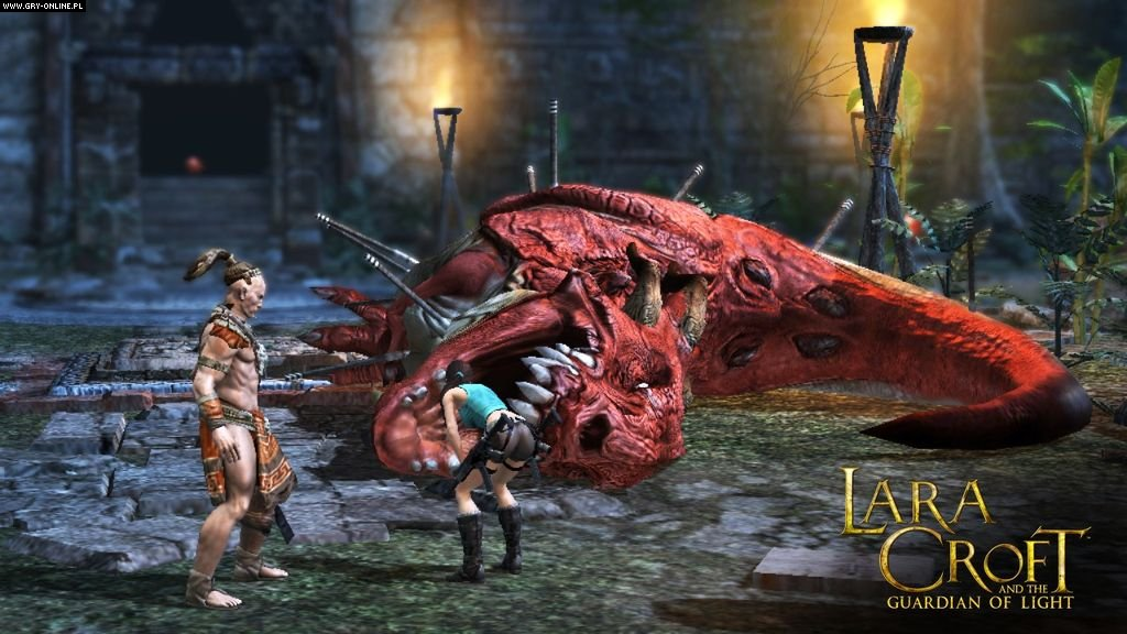 Lara Croft and the Guardian of Light PC, WWW Gry Screen 5/49, Crystal Dynamics, Square-Enix / Eidos