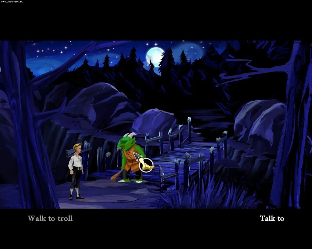 The Secret of Monkey Island: Special Edition PC Gry Screen 4/48, LucasArts