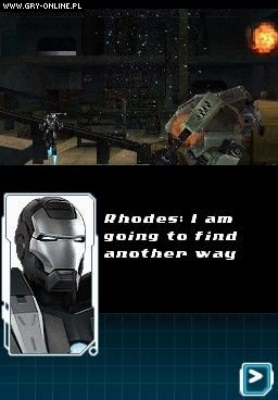 Iron Man 2 NDS Gry Screen 3/29, High Voltage Software, SEGA